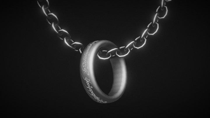 Inktober #1 - Ring 3D Model