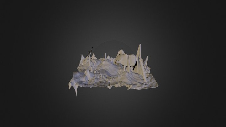 Distortion Plane 3D Model
