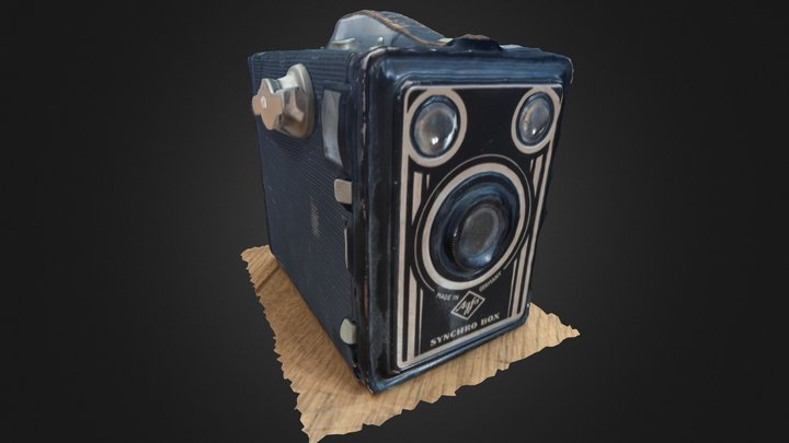 Agfa Synchro Box 3DST 3D Model