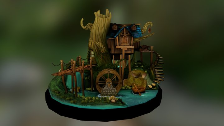 The Mill 3D Model