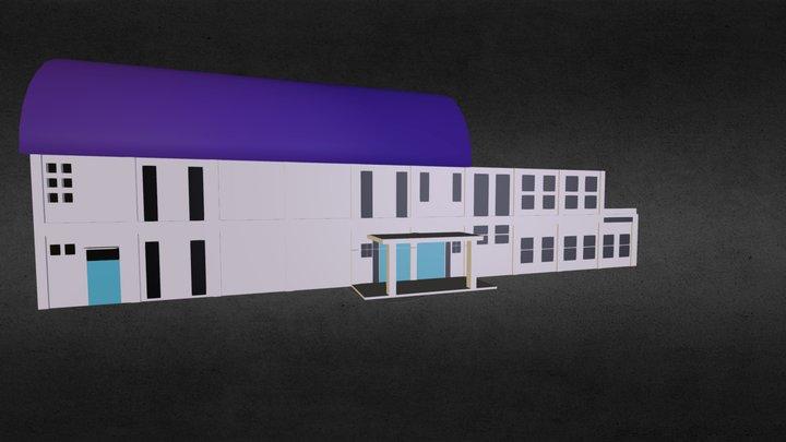 Gedung Serbaguna BPPTIK 3D Model