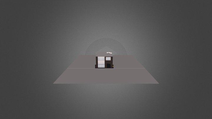 銀座某ビル計画 3D Model