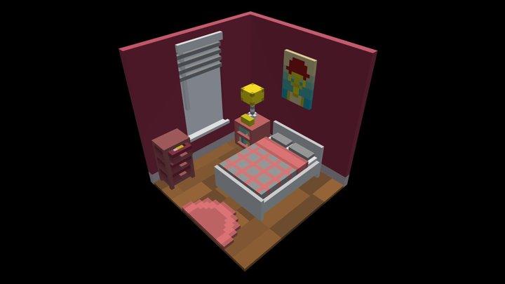 Daisy's Room 3D Model