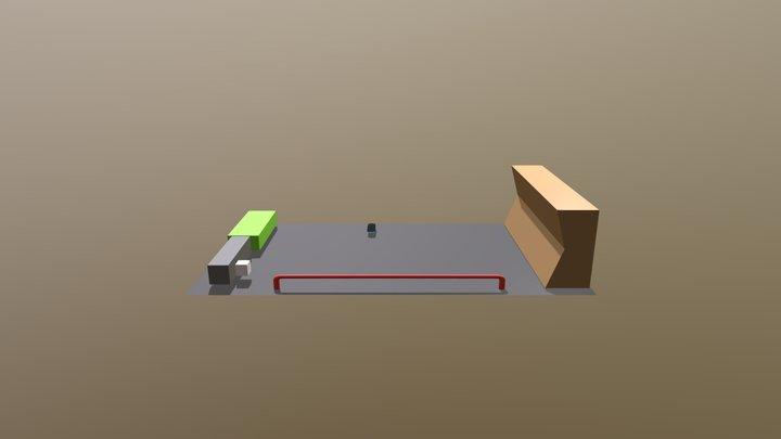 Skateboard Park - Week3 3D Model