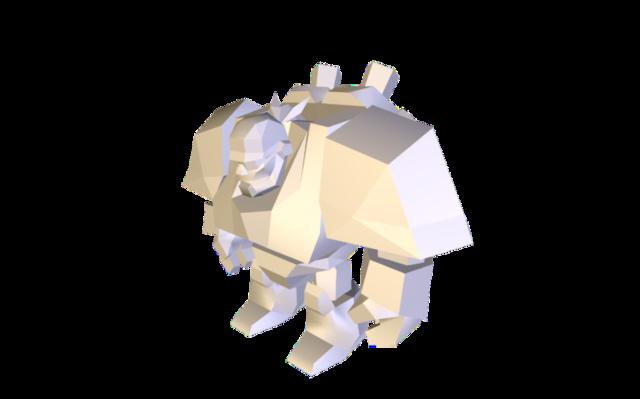 hc_grenadier 3D Model
