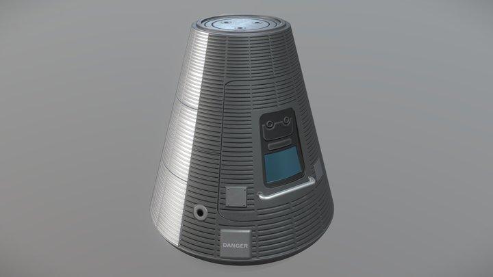 KSP- Mk1 Command Pod (Fan-Art) 3D Model