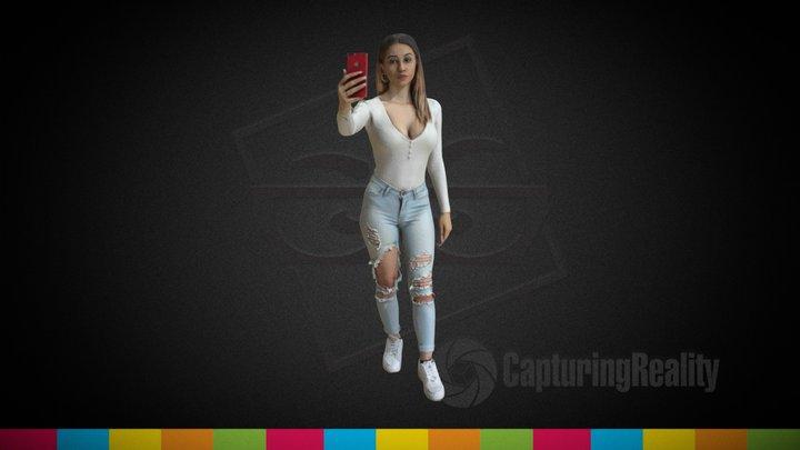 Jada's Pose - The Studio 3D Model