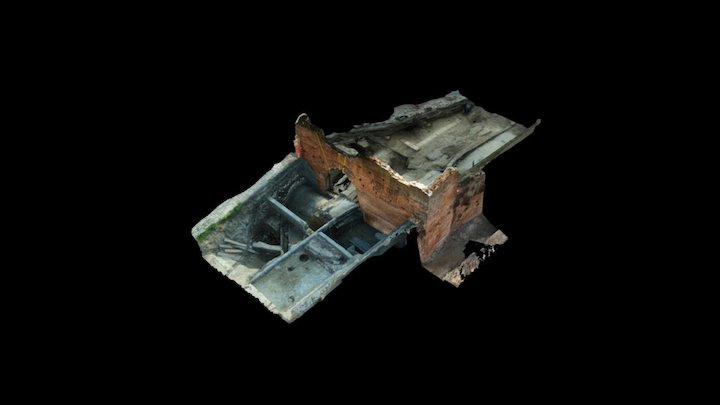 Rimini, Porta Galliana, indagini archeologiche 3D Model