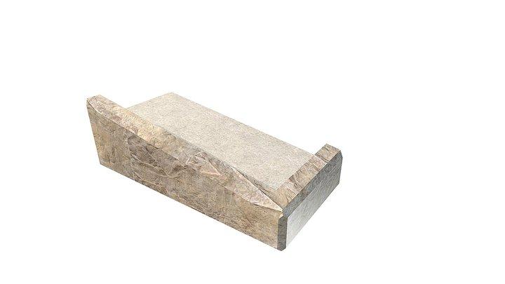Sloped Right Corner Top Block 3D Model