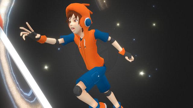 Blender Boy 3D Model