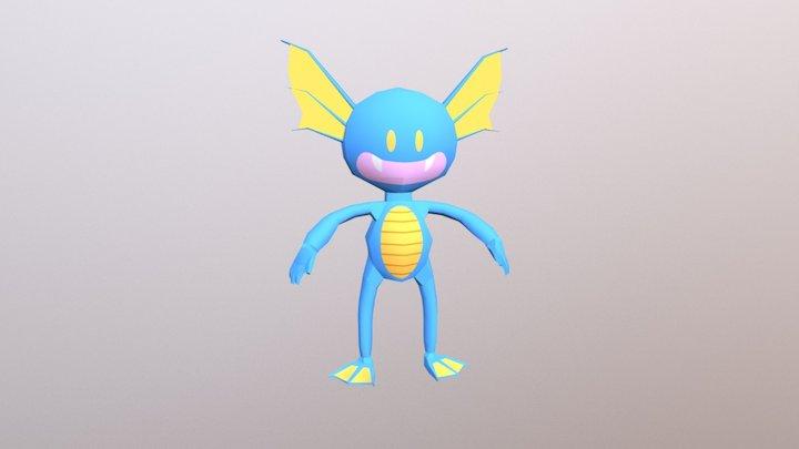Fishy character 3D Model