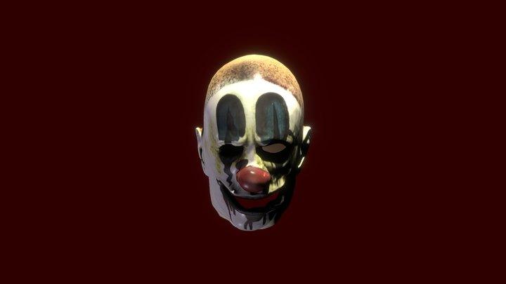Clown Mask V1 3D Model