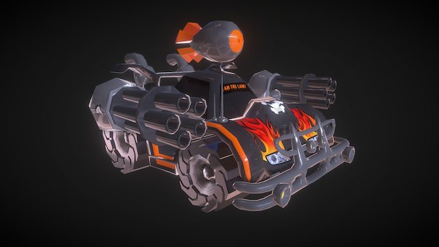 Warmobile 3D Model