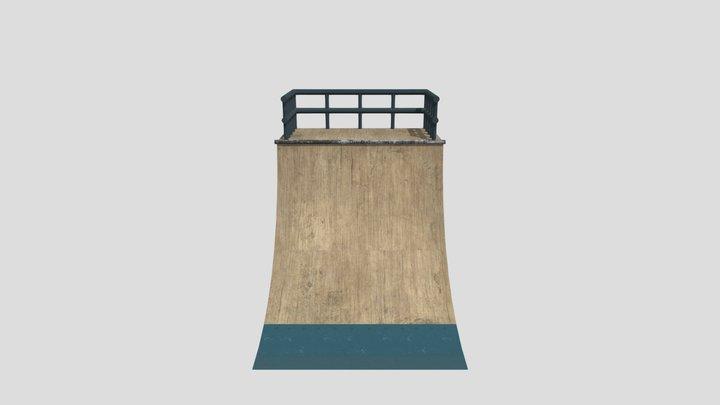 skate ramp 3D Model