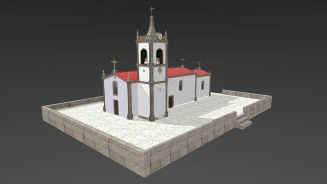 Igreja, Vila Chã 3D Model