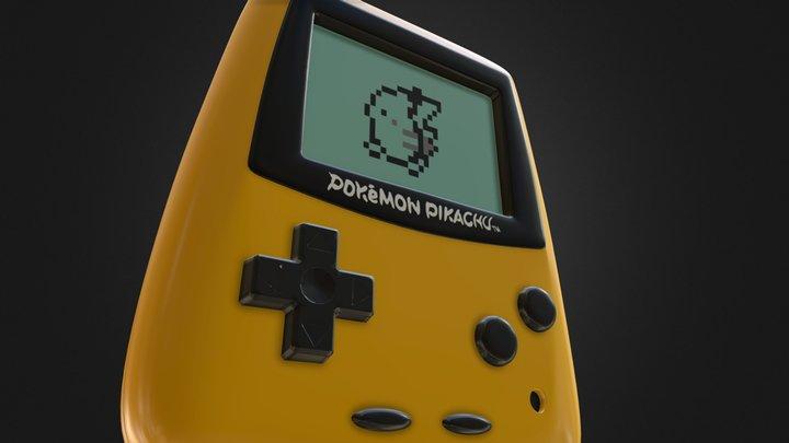 Pokemon Pikachu GS 3D Model