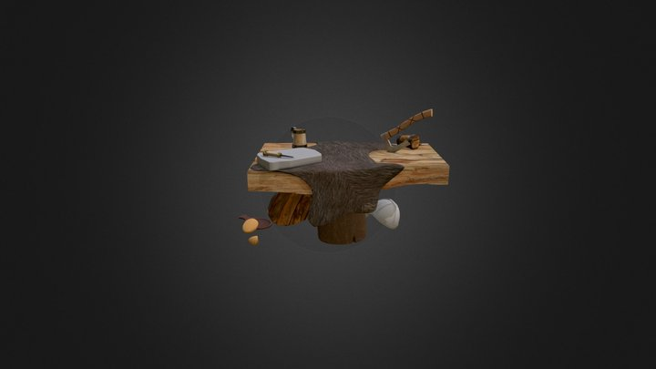 vikingtableprogress 3D Model
