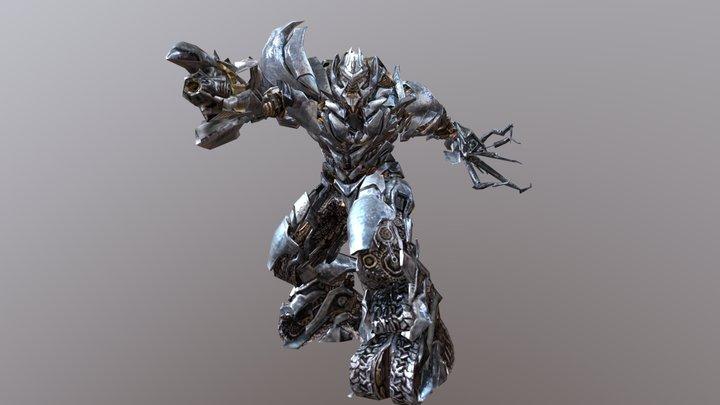 Megatron TF2 3D Model