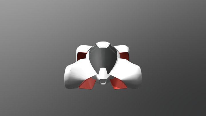 New Car 2 V50 3D Model