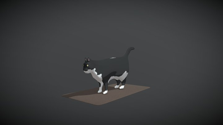Yep, that's a cat 3D Model