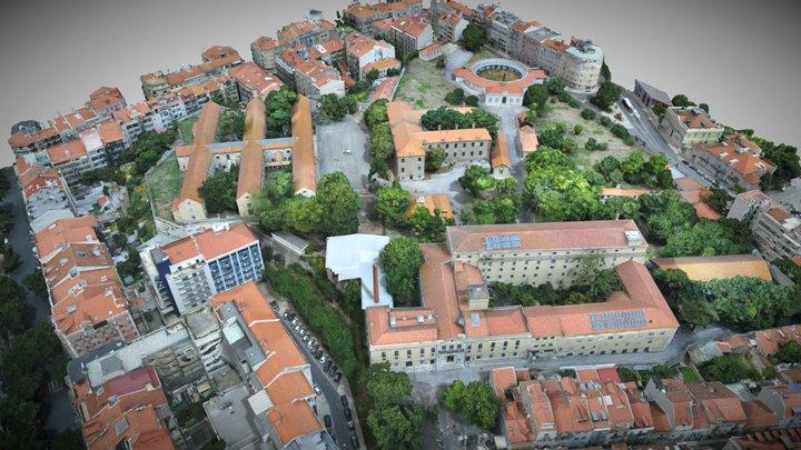 Hospital Miguel Bombarda 3D Model