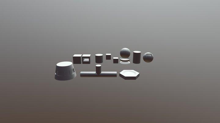 Topology 3D Model