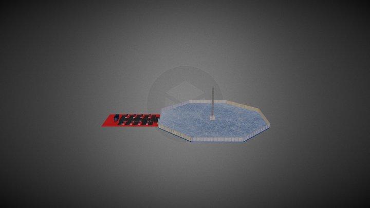 Octagon Ifec Icerink 3D Model