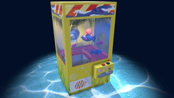 Under The Sea -Crane Machine 3D Model