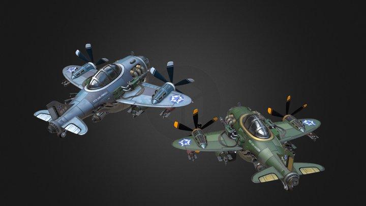 FCR Air forces 3D Model