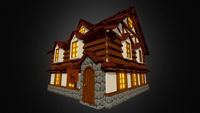 Goblin and the Mortar Tavern 3D Model