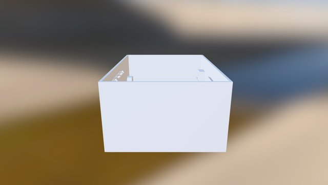 Aspiradora 3D Model