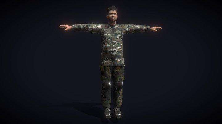 Soldier 15 - Nowicho 3D Model