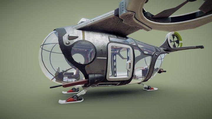 Vertigo 2: Brianmobile 3D Model
