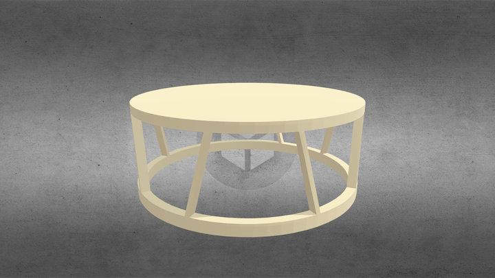 Журнальный столик 920 от Rolf-benz 3D Model