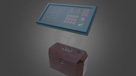 Repair Kit / Control Panel [Spaceship Indweller] 3D Model