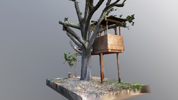 Tree House (work in progress) 3D Model