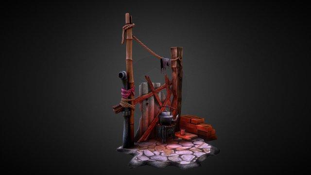 Random Scene 3D Model