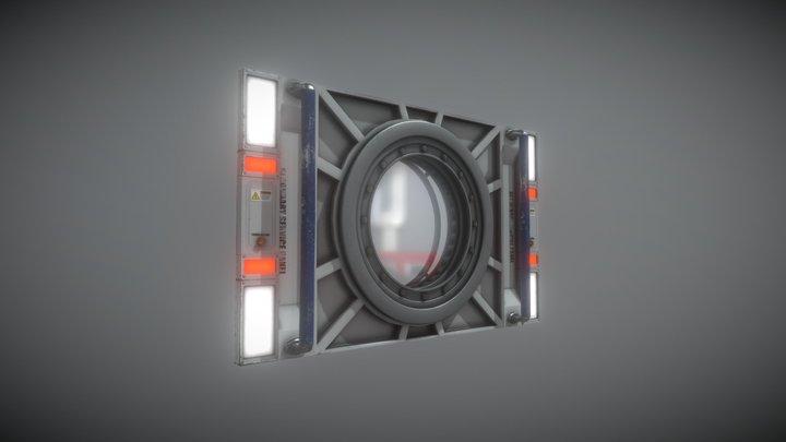 SM Panel Porthole Sketch 3D Model