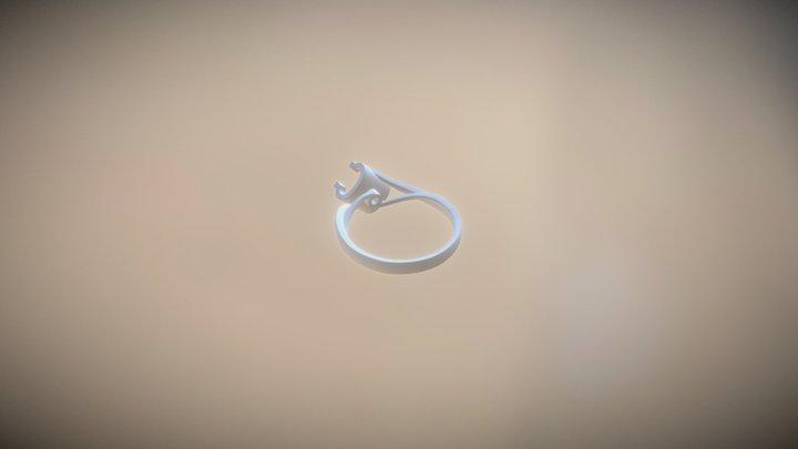 牛头戒指 3D Model