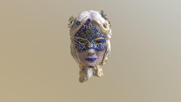 Maska - autoportret 3D Model
