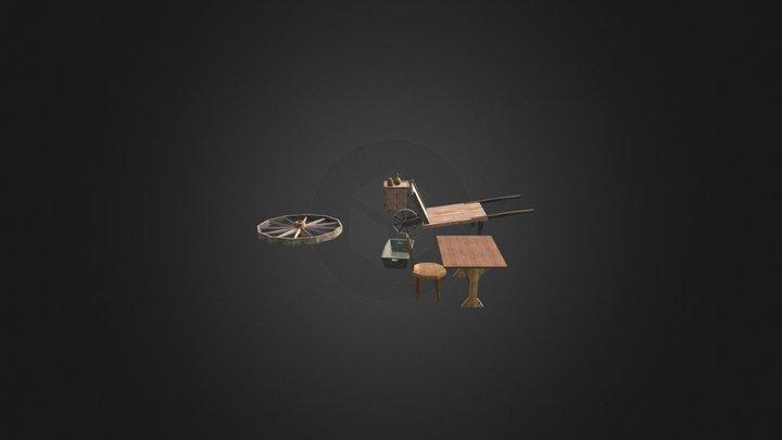 objects set 3D Model