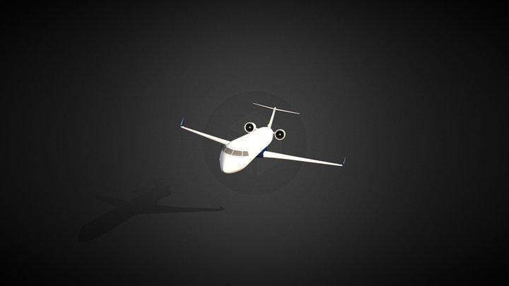 CRJ-700 3D Model