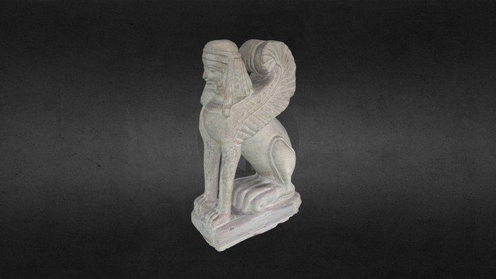 Sfinge Etrusca Chiusi 3D Model