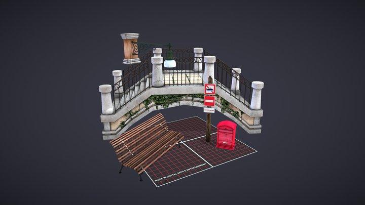 Models for City Scene 3D Model