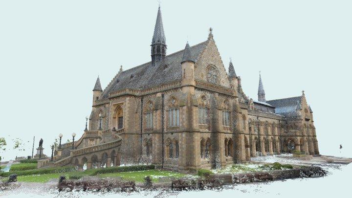 Scotland: Dundee, The McManus (5M point cloud) 3D Model