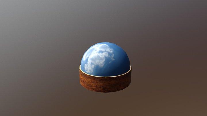western_town_sphere 3D Model