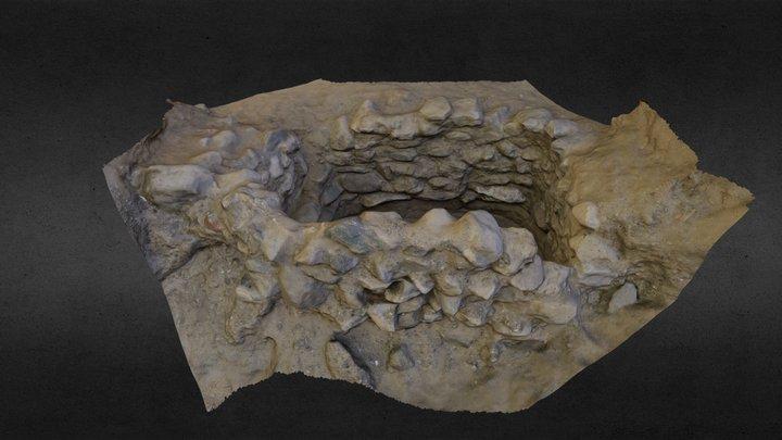 Parthian Grave 3D Model