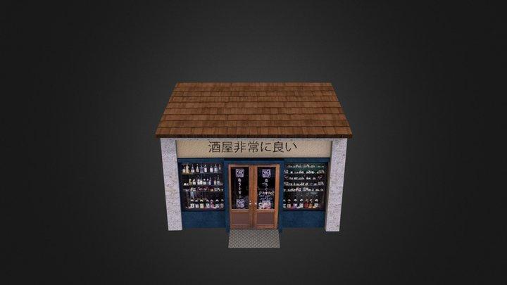 LiquorStore 3D Model