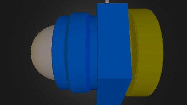 Oil Cap Assembly 3D Model