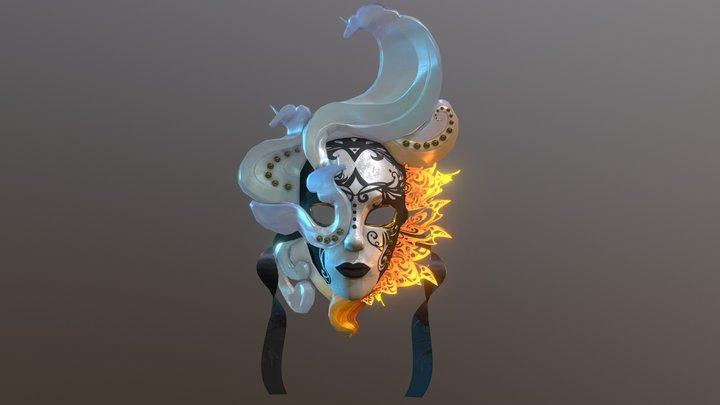 The Last Unicorn Mask 3D Model